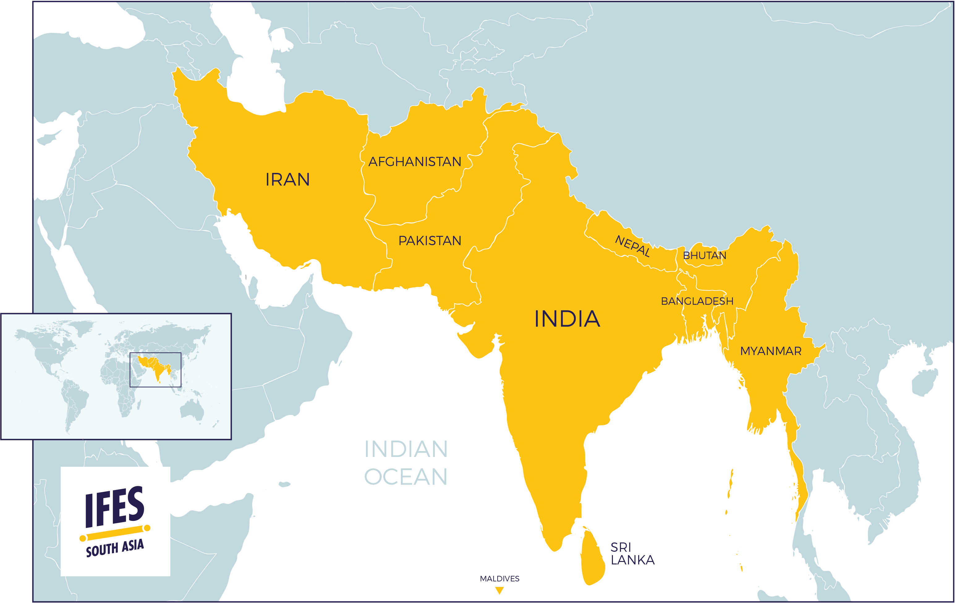 Picture of: South Asia Ifes