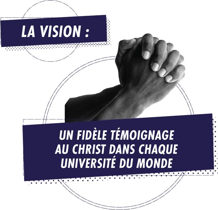 La vision : un fidèle témoignage au Christ dans chaque université du monde